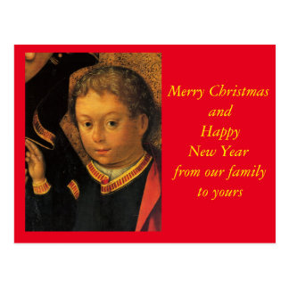 The Christ by Holbein Postcard