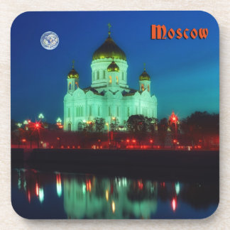 The Christ the Savior cathedral in Moscow city Coaster
