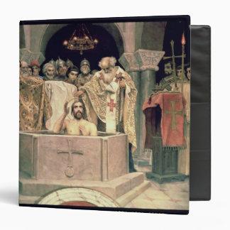 The Christening of Grand Duke Vladimir , 1885-96 3 Ring Binder