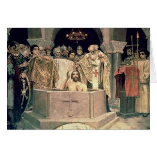 The Christening of Grand Duke Vladimir , 1885-96 Card