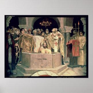 The Christening of Grand Duke Vladimir , 1885-96 Poster