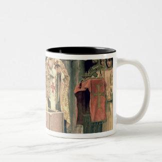 The Christening of Grand Duke Vladimir , 1885-96 Two-Tone Coffee Mug