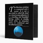 The Christian Cemetery Vinyl Binder