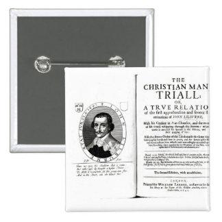 The Christian Man s Trial by John Lilburne Pins