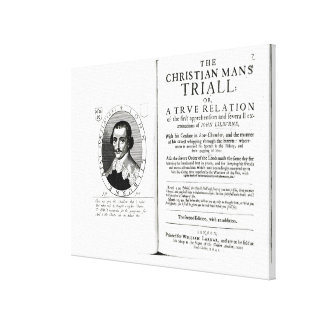The Christian Man's Trial' by John Lilburne Gallery Wrap Canvas