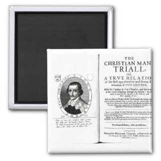 The Christian Man's Trial' by John Lilburne Magnet