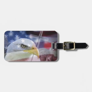 The Christian Patriot. Luggage Tag