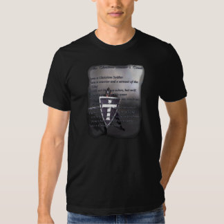 The Christian Soldier's Creed T-Shirt