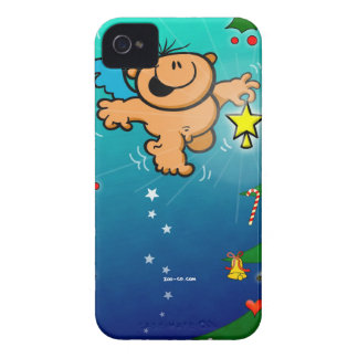 The Christmas Angel and the Missing Star iPhone 4 Case-Mate Case