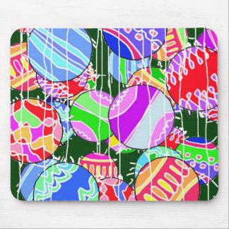 The Christmas balls. Mouse Pad