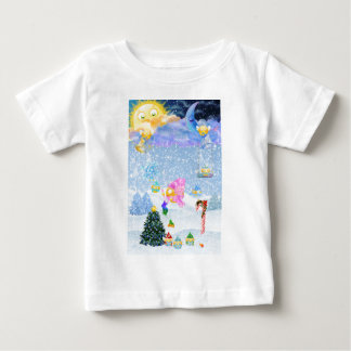 The Christmas Bells are Ringing Baby T-Shirt