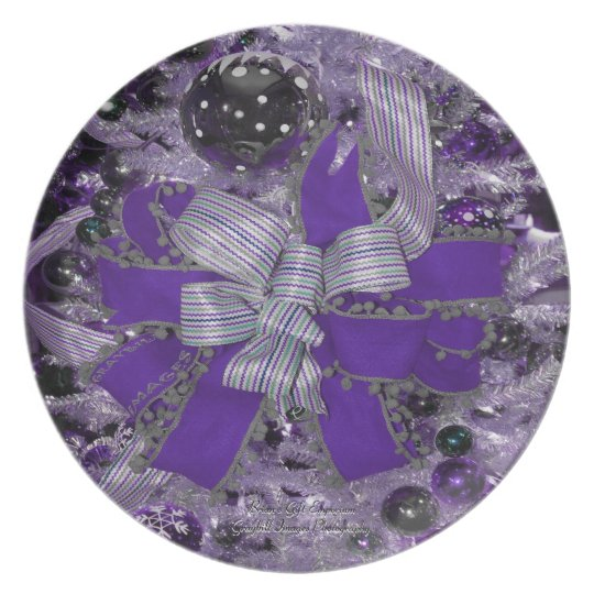 The Christmas Bow Plate