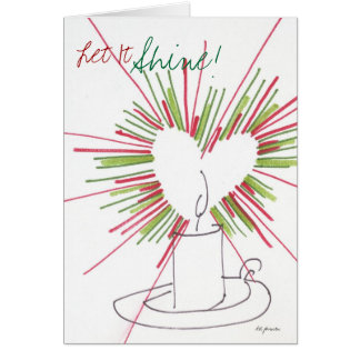 The Christmas Candle Greeting Cards