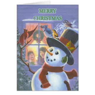 The Christmas Carolers Card