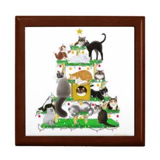 The Christmas Cat Tree Gift Box