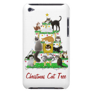 The Christmas Cat Tree iPod Touch Case