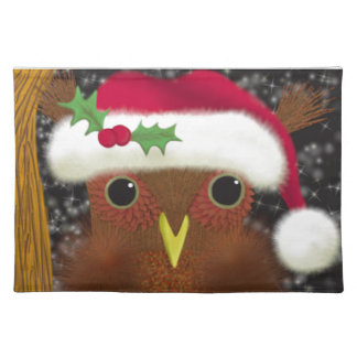 The Christmas Eve Owl ~ Placemat