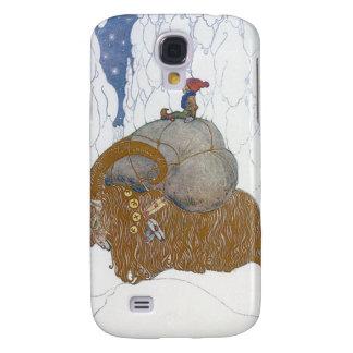 The Christmas Goat  Julbok by John Bauer Galaxy S4 Case
