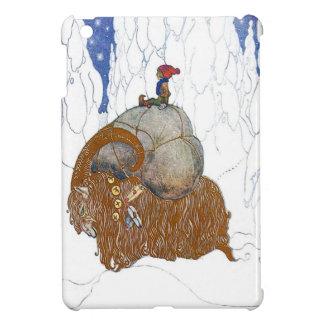 The Christmas Goat - Julbok by John Bauer iPad Mini Cover