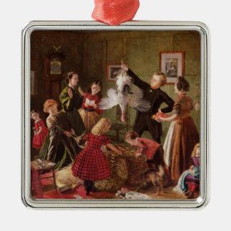 The Christmas Hamper Metal Ornament