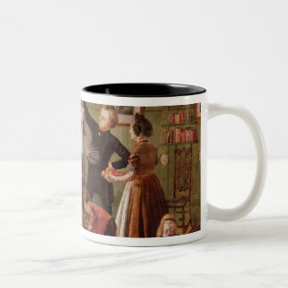 The Christmas Hamper Two-Tone Coffee Mug