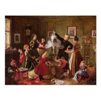 The Christmas Hamper Postcard