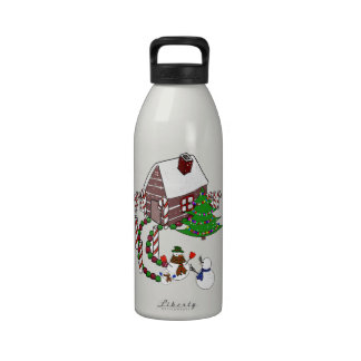 The Christmas Homecoming Reusable Water Bottles