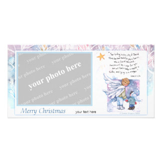 The Christmas Message Photo Card