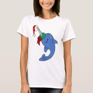 The Christmas Narwhal T-Shirt