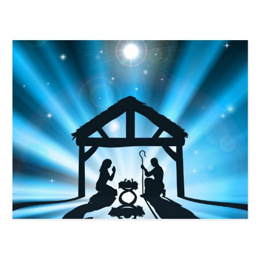 The Christmas Nativity Postcards