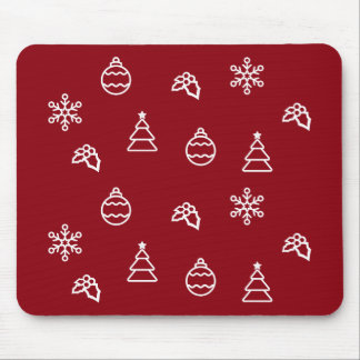 The Christmas Pattern I Mouse Pad