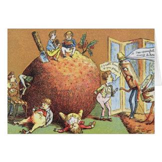 The Christmas Pudding Card