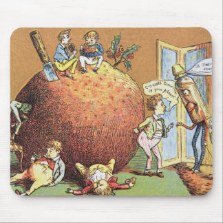 The Christmas Pudding Mouse Pad