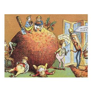 The Christmas Pudding Postcard