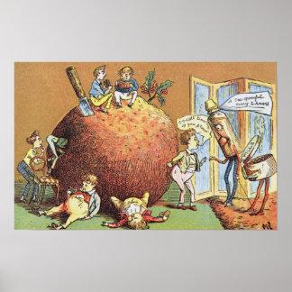 The Christmas Pudding Poster