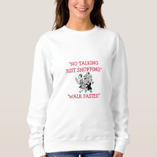 "THE CHRISTMAS SHOPPING SWEATSHIRT ""A MUST HAVE"""