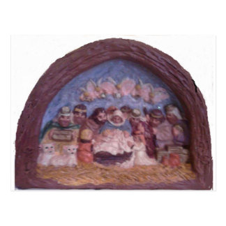 THE CHRISTMAS STABLE POST CARD