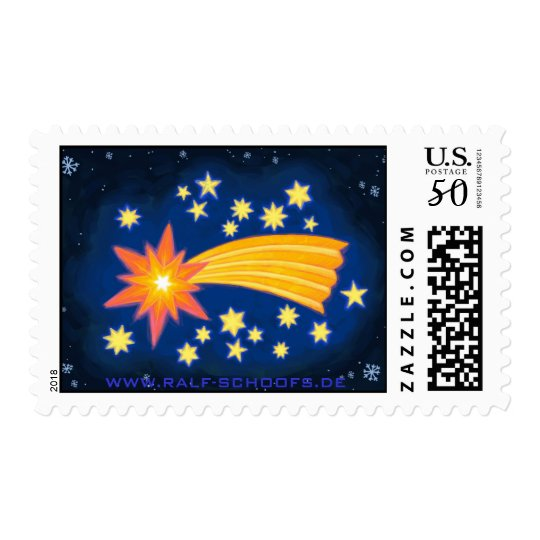 The Christmas Star stamp