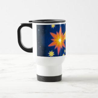 The Christmas Star white travel mug