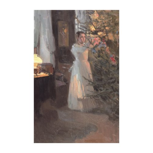 The Christmas Tree, 1910 Canvas Prints