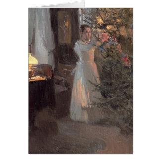 The Christmas Tree, 1910 Greeting Card