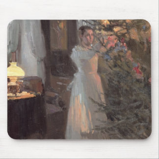 The Christmas Tree, 1910 Mouse Pad