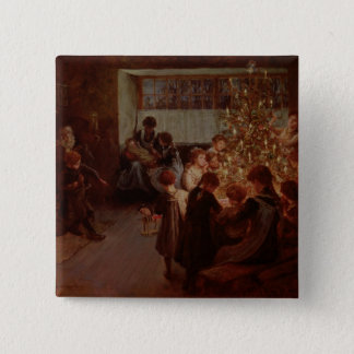 The Christmas Tree, 1911 Button