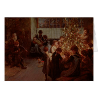 The Christmas Tree, 1911 Card