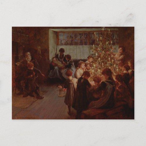 The Christmas Tree 1911 Holiday Postcard