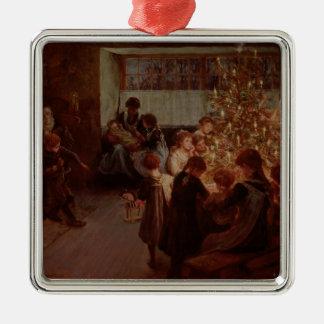 The Christmas Tree, 1911 Metal Ornament