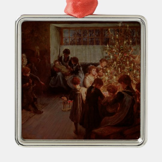 The Christmas Tree, 1911 Metal Ornament