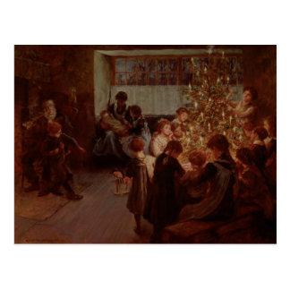 The Christmas Tree, 1911 Postcard
