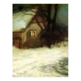 The Christmas Tree by John Henry Twachtman Postcard
