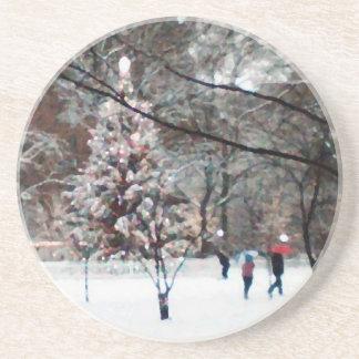'The Christmas Tree' Coaster